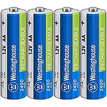 Amazon.com: 8pc Westinghouse Pre Charged Always Ready AAA