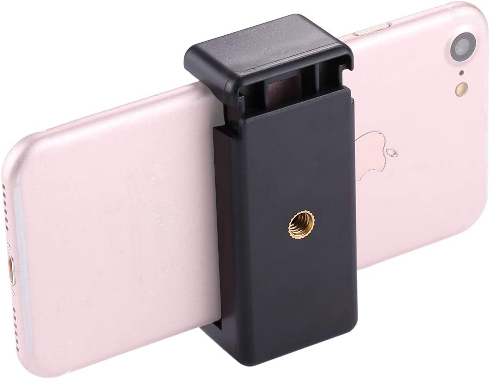 Samsung HTC Sony TANNGDIFNJAUN Selfie Stick Selfie Sticks Tripod Mount Phone Clamp with 1//4 inch Screw Hole for iPhone LG and Other Smartphones Extendable Pole