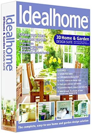 Ideal Home 3D Home & Garden Design Suite 12: Amazon.Co.Uk: Software