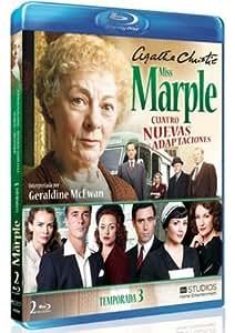Agatha Christie's Miss Marple Adaptations - Season 3 (4 Films) - 2-Disc Set ( Marple: Towards Zero / Marple: Nemesis / Marple: At Bertram's Hotel / Marple: Ordeal by Innocence ) ( Agatha Chr (Blu-Ray)