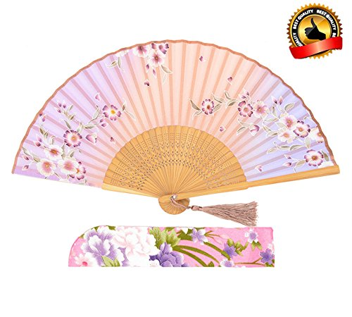 Personalized Cherry Blossom Fan - 5