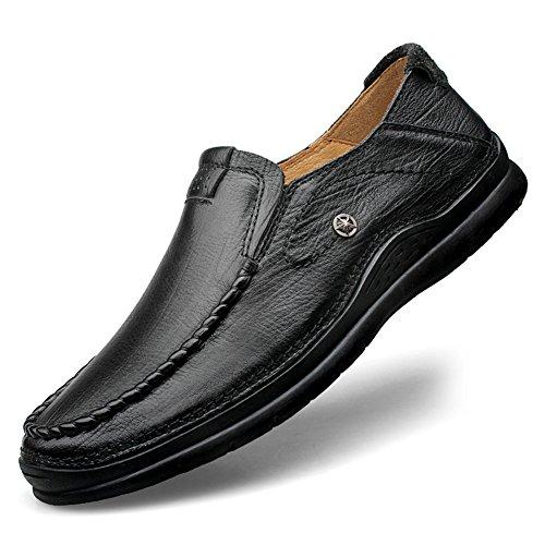 Lavoro Eleganti Classic Loafers Nero Primavera Scarpe Autunno Mocassini Uomo pwOf6