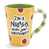 Nurse 12 Oz Coffee Mug/cup with 'I'm A Nurse' What's Your Super Power?' Great Gift For Nurses