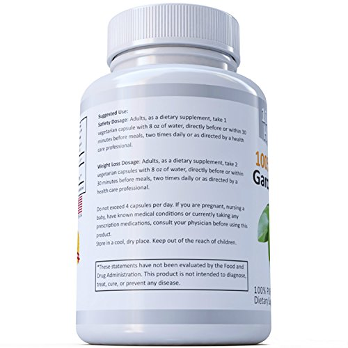 100% HCA EXTREME Garcinia Cambogia Extract – 100% Pure All Natural 120 Caps – The Ultimate Fast Action Diet Pills by MagixLabs