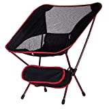 Folding Camping Chairs Ultralight Folding Camping Chairs, Heavy Duty Chair Outdoor Chairs with a Carry Bag for Outdoor,Camping, Garden,Hiking,Beach,Fishing,Picnic,Kayaking