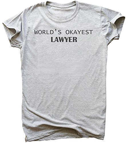 World's Okayest Lawyer Men's T-Shirt
