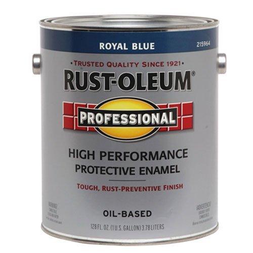 RUST-OLEUM 215964 Professional Gallon Royal Blue Enamel - Professional High Performance Enamel