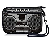 Cell Phone Bag,Carrying Travel Case, Neoprene Small Wristlet Wallet Coin Purse With Strap And Pocket For iPhone 6 7 8 S Samsung Galaxy S4 S5 S6 S7 S8 S9 Huawei P10 P20 (Boombox)