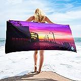 Santa Monica Pier Towel