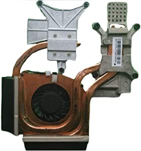 Z-one Heatsink Fan Replacement for HP Pavilion DV6-2000 DV6-2100 DV6-2200 DV6T-2100 DV6T-2300 Series CPU Heatsink Cooling Fan 579158-001 600868-001 3-Wire 3-pin