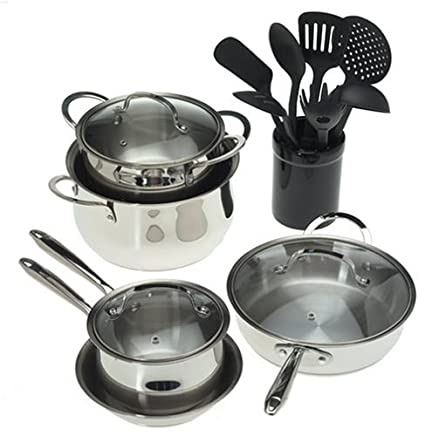 Professional 16 Piece High Quality Cookware Set