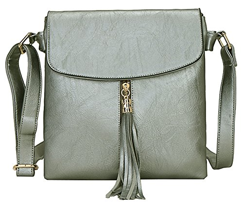 bandoulière Shop 4 Sac Big à femme M Design Taille pour main Gun Handbag Metal qX4qR5w