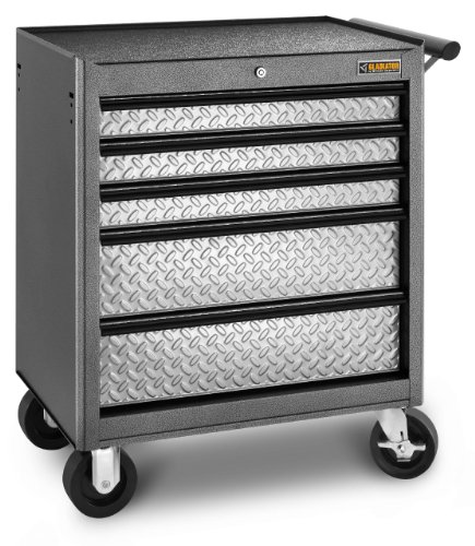 Gladiator GarageWorks GATR27V5WG Classic Series 5-Drawer Roll-Away (Gladiator Tool Chest compare prices)