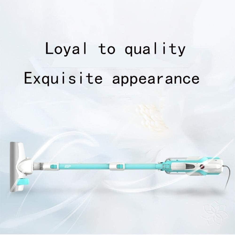 Lsmaa Ultra Quiet Mini Aspirateur Accueil Rod Portable collecteur de poussière Accueil Aspirateur à Main Aspirateur Bleu (Color : Blue) Blue