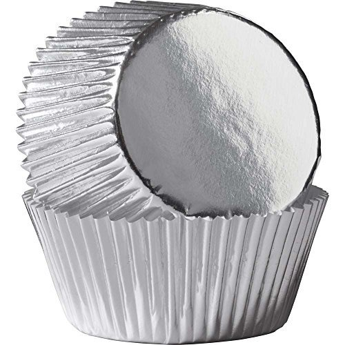 Wilton Silver Foil Standard Baking Cups, Package of 24