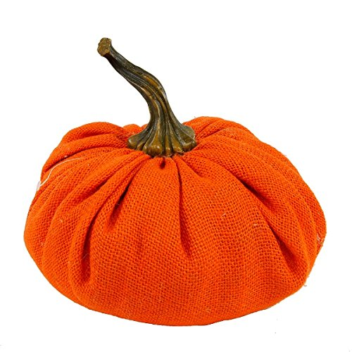 Flora Bunda FT2444 Plush Hemp Fabric Pumpkin Sachet (XL)(Orange, 6pcs) by Flora Bunda
