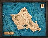 Oahu 3-D Wooden