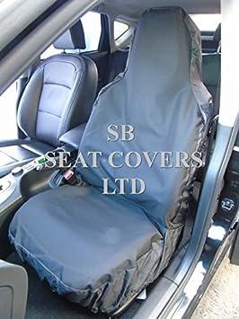 REAR WATERPROOF SEAT COVERS GREY SUZUKI JIMNY SZ3 98-