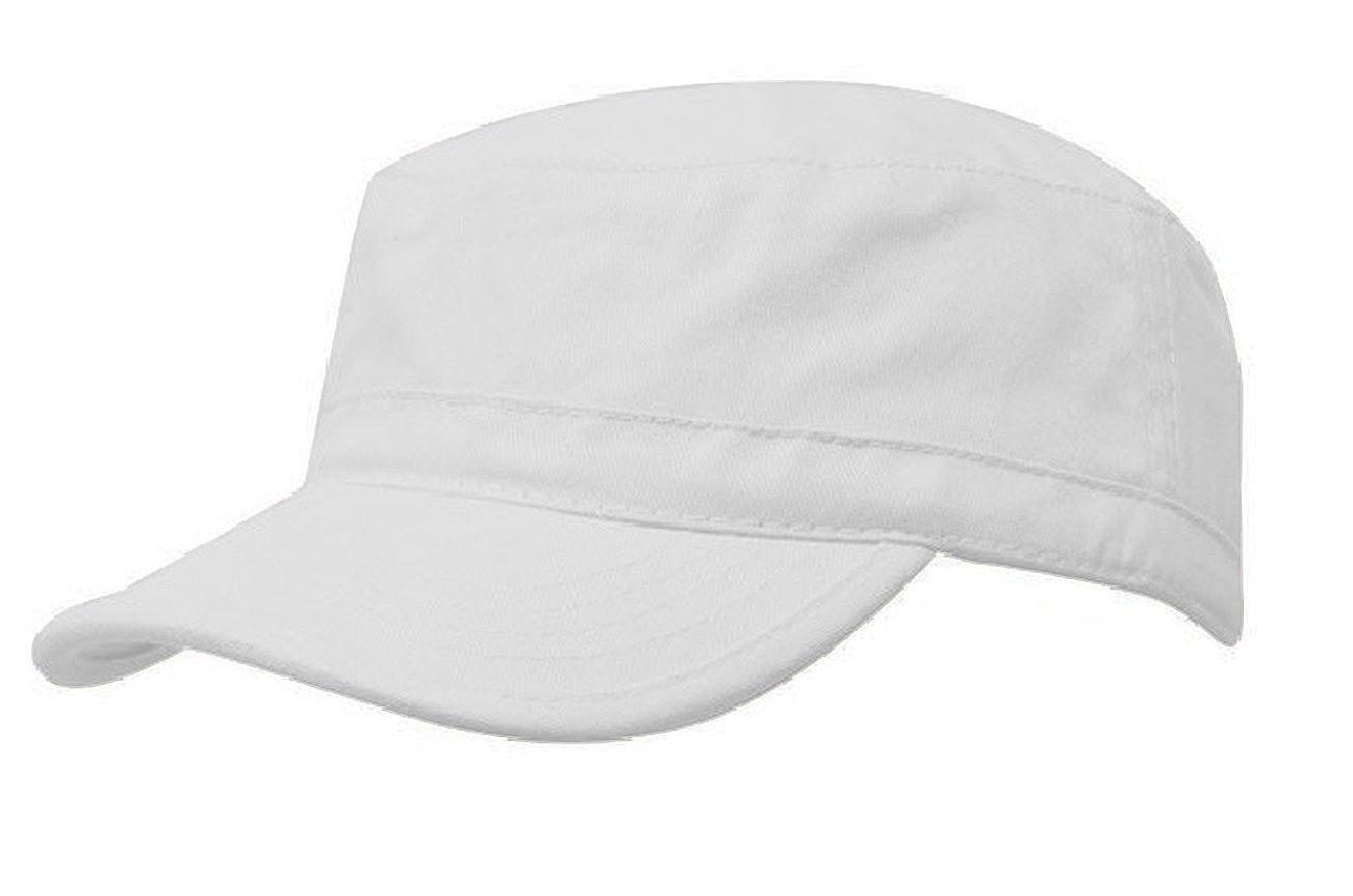 Morefaz Men Women Adjustable Classic Army Plain Hat Cadet Military Baseball Sport Cap Mfaz Ltd 01