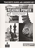 img - for Advanced Reading Power: Teacher's Guide with Answer Key book / textbook / text book