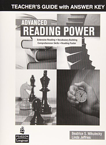 Advanced Reading Power: Teacher's Guide with Answer Key (Advanced Reading Power)