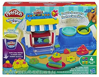 Play-Doh Sweet Shoppe Double Desserts Playset (B00GAT8HGO) | Amazon price tracker / tracking, Amazon price history charts, Amazon price watches, Amazon price drop alerts