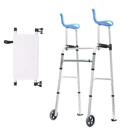 Andador plegable con ruedas / asiento para el cuidado de la ...