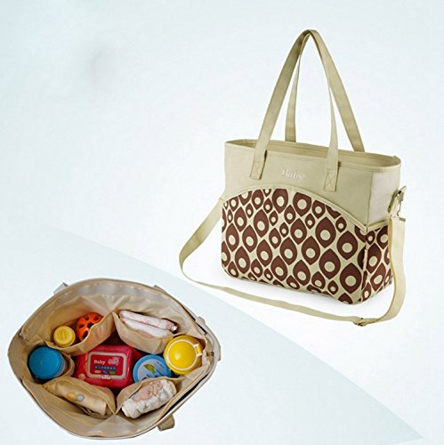 Amazon.com : bolso maternal mensajero diaper bag multifunctional baby feeding bottle bag bolso viaje bebe STMMB001 : Baby