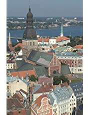 View Over Riga Latvia Journal: 150 page lined notebook/diary