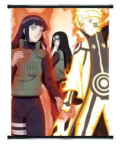 Naruto Anime Naruto & Hinata - Rollo de pared (40 x 60 cm ...