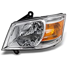 Dodge Grand Caravan Clear Driver Left Side Front Headlight Head Lamp Front Light Replacement
