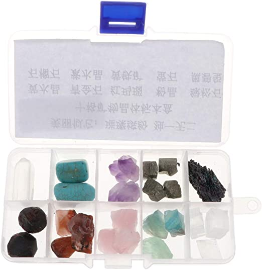 Details about  /Rock /& Mineral Collection Geology Science Kit Earth Science Toy Black Quartz