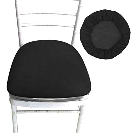 img buy SHZONS Chair Seat Covers, Removable Elastic Dining Chair Cover Protectors Stool Slipcovers for Bar Stools Dining Room Patio Office Chair
