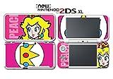 #8: Super Mario Bros Princess Peach Pauline Video Game Vinyl Decal Skin Sticker Cover for Nintendo New 2DS XL System Console