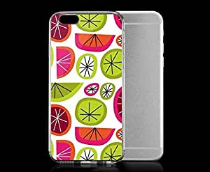 Light weight with strong PC plastic case for iphone 5 5s Patterns Patterns Citrus. Robin Zingone ?