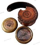 Best Brass Compasses - Robert Frost Brass Poem Compass. C-3013 Review