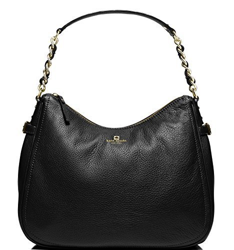 et Finley Leather Hobo Bag, Black ()