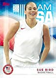 Sue Bird basketball card (United States Olympic Team WNBA, UCONN) 2016 Topps #44