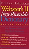 The Webster's II New Riverside Dictionary, Houghton Mifflin Company Staff, 0395742889