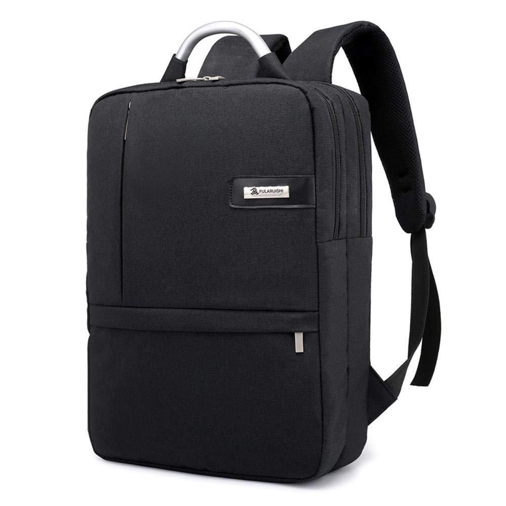 HOQTUM Negocio Viaje Viaje Viaje Correa USB Carga Interfaz 15.6 Pulgadas Laptop Mochila estudiantil 2db1eb