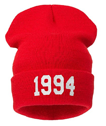 Schwarz de Gorro 4sold 1994 red para mujer punto TX5TFqA