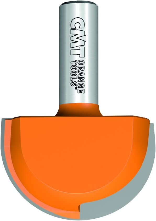 CMT 814.990.11 Round Nose Bit with 1 Radius and 1//2 Shank