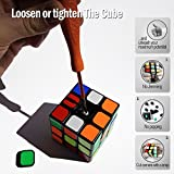 AGREATLIFE The Cube: Turns Quicker and More Precise Than Original ; Super-Durable with Vivid Colors 3x3 Cube | Easy Turning and Smooth Play | Perfect for Speed Cubing