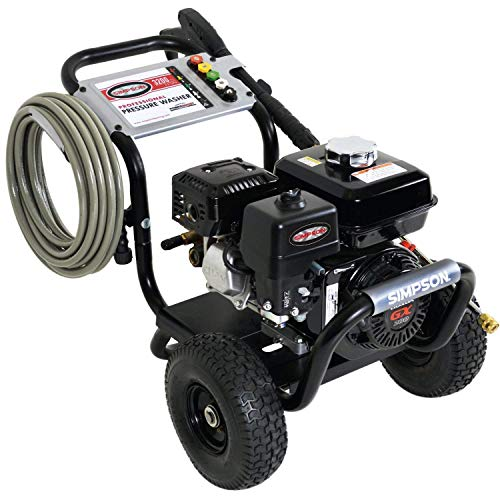 SIMPSON Cleaning PS3228-S 3300 PSI at 2.5 GPM Gas Pressure Washer Powered by HONDA with AAA Triplex...