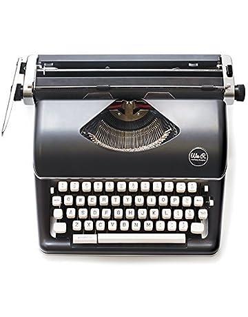 American Crafts Máquina De Escribir Typecast Typewriter Black We R Memory Keepers Negra