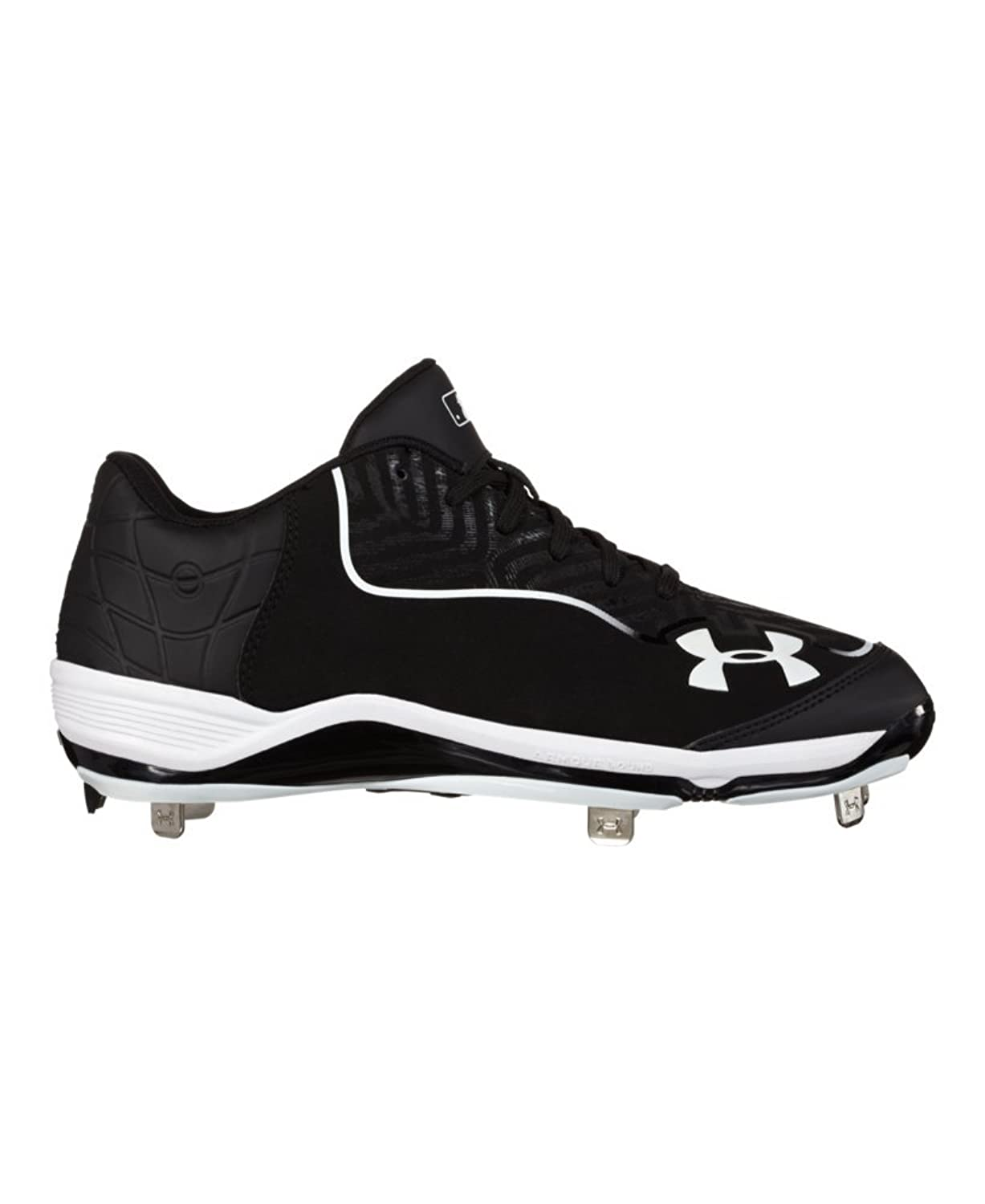 New Mens Under Armour Ignite Mid ST CC Baseball Cleats Royal White Sz 13 M