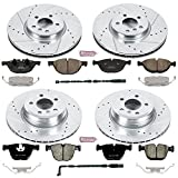 Power Stop K6010 Front and Rear Z23 Evolution Brake Kit with Drilled/Slotted Rotors and Ceramic Brake Pads