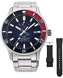 [オリエント時計] 腕時計 オリエントスター スポーツ ダイバー Diver 200m防水本格ダイバー(ISO準拠) シリコンバンド付 パワーリザーブ50時間搭載 RK-AU0306L メンズ