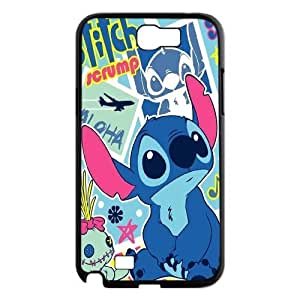 Ohana Means Family - Cute Stitch Productive Back Phone Case For Samsung Galaxy Note 2 Case -Pattern-10