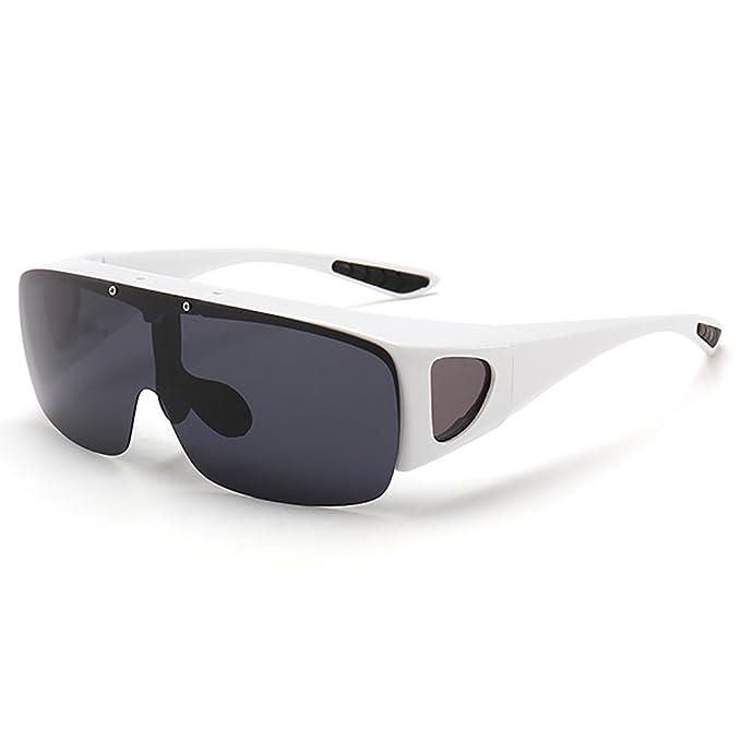 d212441188 SHEEN KELLY Ajuste sobre la envoltura alrededor de gafas Gafas Graduado  Polarizado Night Tug Above Night Vision Driving Gafas de sol Eyewear:  Amazon.es: ...